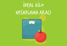 ideal-kilo hesaplama
