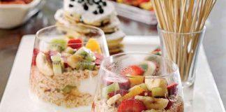 Meyveli Yoğurt Salatası